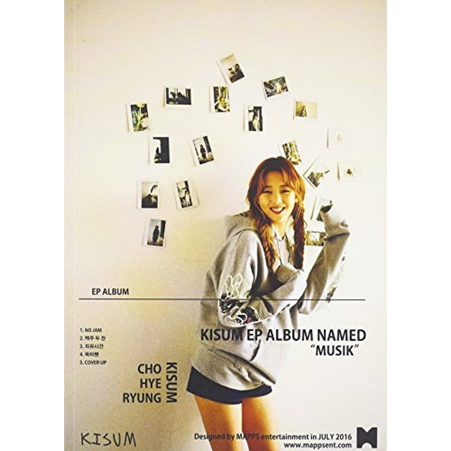 Kisum MUSIK (MINI ALBUM) CD