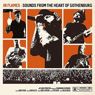 In Flames SOUNDS FROM THE HEART OF GOTHENBURG Blu-ray