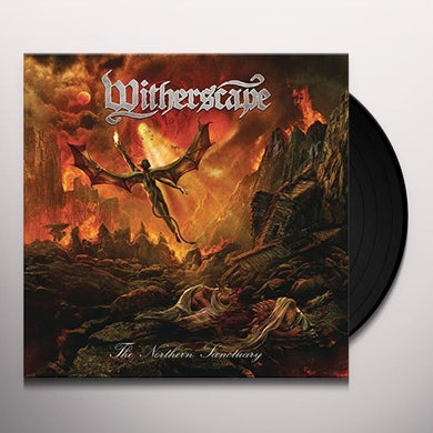 Witherscape NORTHERN SANCTUARY Vinyl Record - w/CD, Clear Vinyl, Gatefold Sleeve, Poster