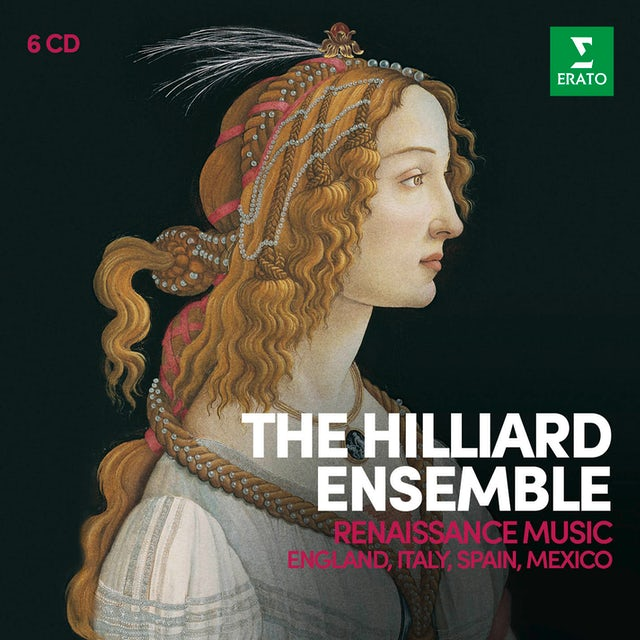 Hilliard Ensemble RENAISSANCE MUSIC ENGLAND ITALY SPAIN MEXICO CD