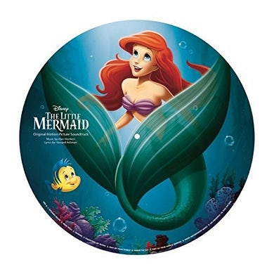 LITTLE MERMAID / O.S.T.   LITTLE MERMAID / Original Soundtrack Limited Picture Disc Pressing Vinyl Record