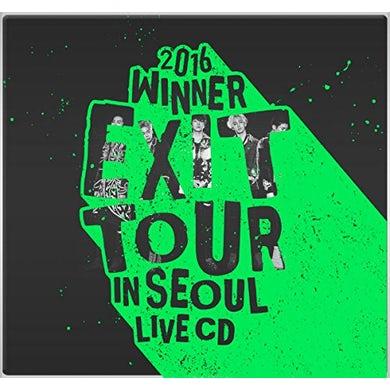 2016 WINNER EXIT TOUR IN SEOUL LIVE CD