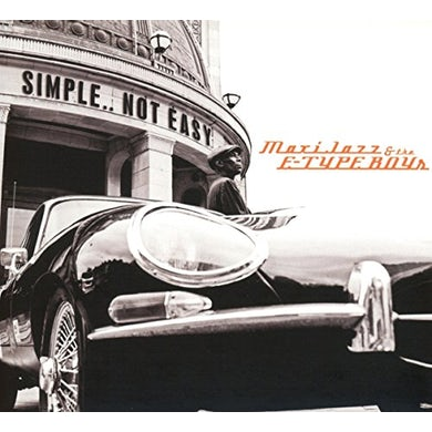Maxi Jazz & The E-Type Boys SIMPLE NOT EASY CD