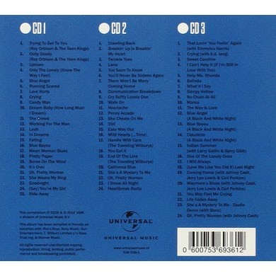 Roy Orbison COLLECTED CD