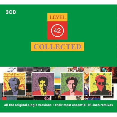 Level 42 COLLECTED CD