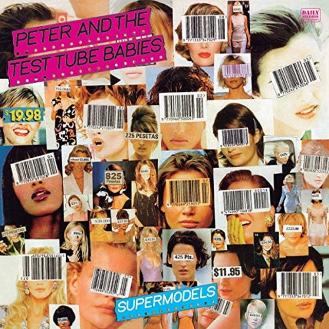 Peter and the Test Tube Babies SUPERMODELS / RE-ISSUE Vinyl Record