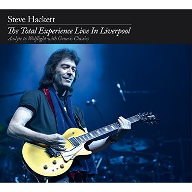 Steve Hackett TOTAL EXPERIENCE: LIVE IN LIVERPOOL CD