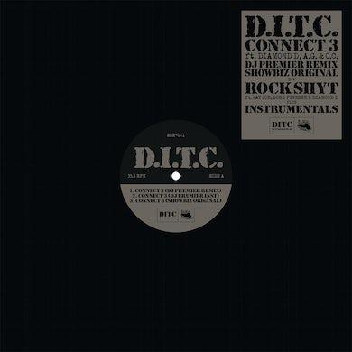 D.I.T.C. CONNECT 3 / ROCK SHYT Vinyl Record