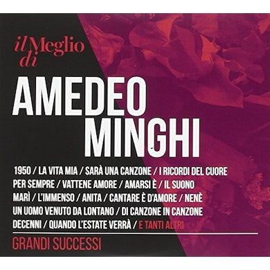 IL MEGLIO DI AMEDEO MINGHI: GRANDI SUCCESSI CD