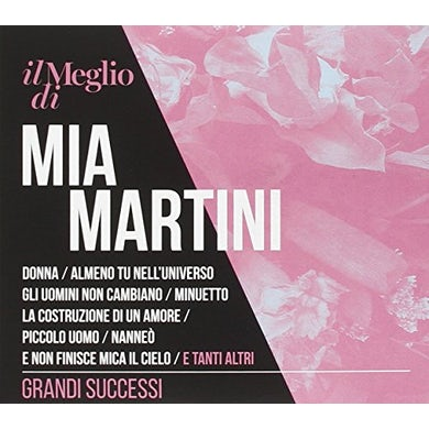 IL MEGLIO DI MIA MARTINI: GRANDI SUCCESSI CD