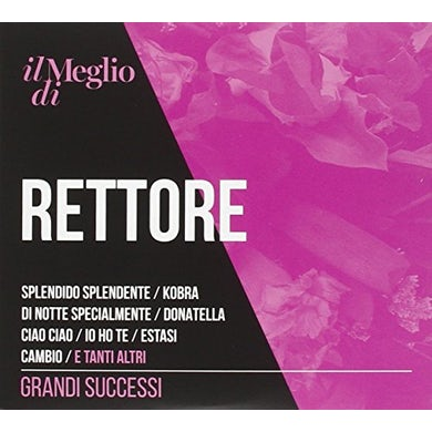 Donatella Rettore IL MEGLIO DI RETTORE: GRANDI SUCCESSI CD