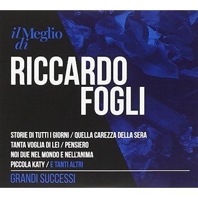 IL MEGLIO DI RICCARDO FOGLI: GRANDI SUCCESSI CD