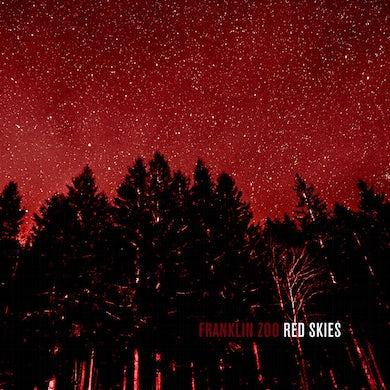 FRANKLIN ZOO RED SKIES Vinyl Record - UK Release