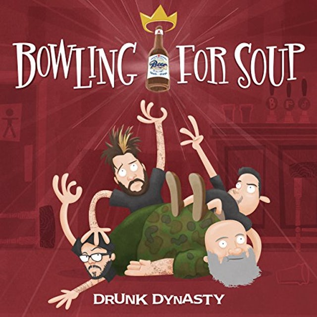 Bowling For Soup DRUNK DYNASTY CD
