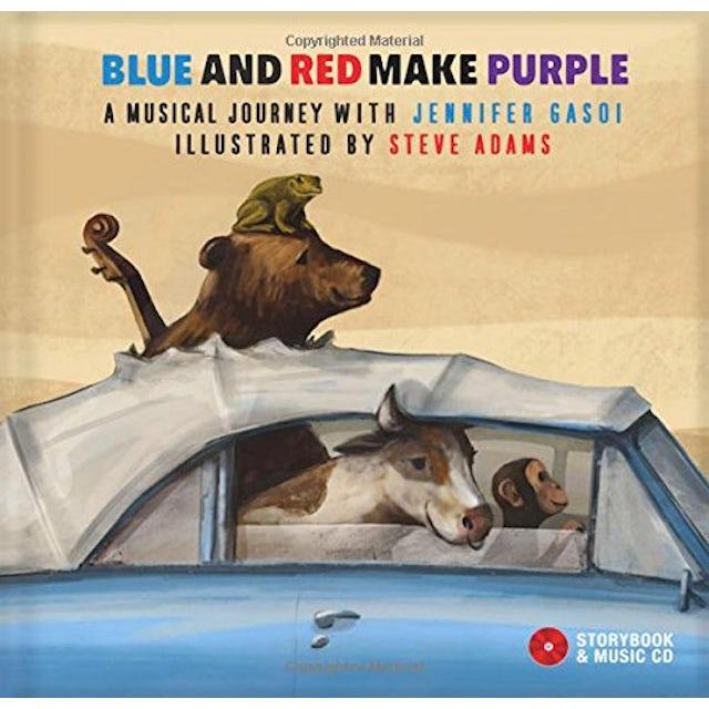 Jennifer Gasoi BLUE & RED MAKE PURPLE CD