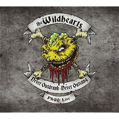The Wildhearts NEVER OUTDRUNK NEVER OUTSUNG: PHUQ LIVE CD