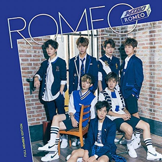 Romeo MIRO (3RD MINI ALBUM) [FULL MEMBER EDITION] CD