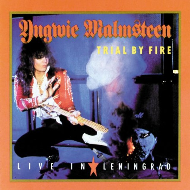 Yngwie Malmsteen TRIAL BY FIRE: LIVE IN LENINGRAD CD