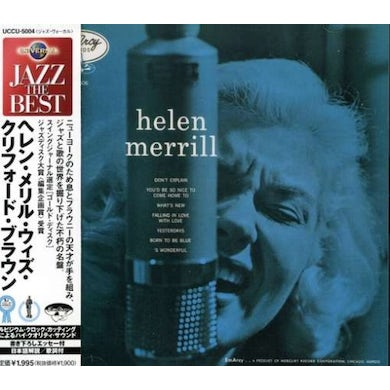 Helen Merrill WITH CLIFFORD BROWN CD