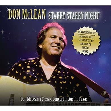 Don Mclean STARRY STARRY NIGHT: LIVE IN AUSTIN CD