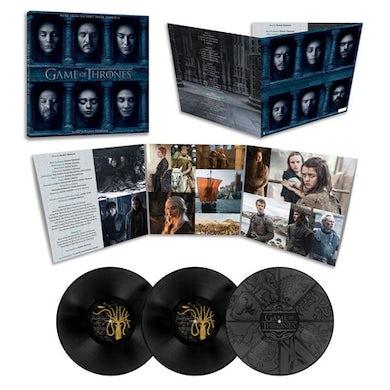RAMIN DJAWADI GAME OF THRONES SEASON 6 - TV Original Soundtrack Vinyl Record