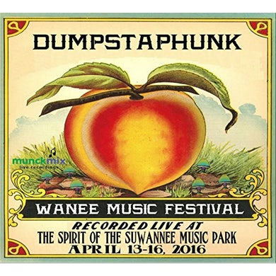 Dumpstaphunk LIVE AT WANEE 2016 CD