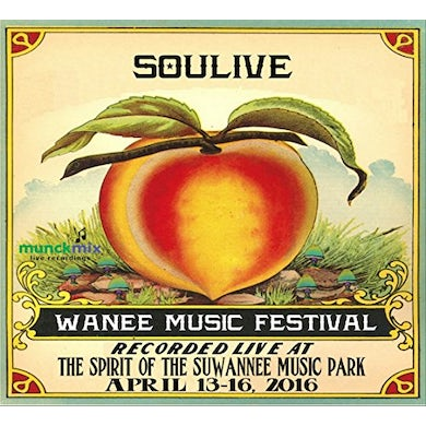 Soulive LIVE AT WANEE 2016 CD