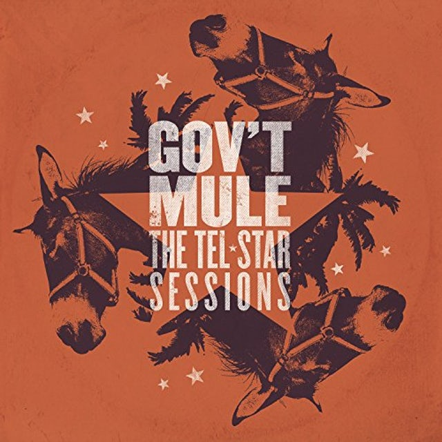 Govt Mule TEL-STAR SESSIONS Vinyl Record