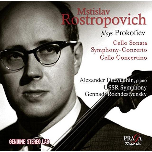 Mstislav Rostropovich PLAYS PROKOFIEV CD
