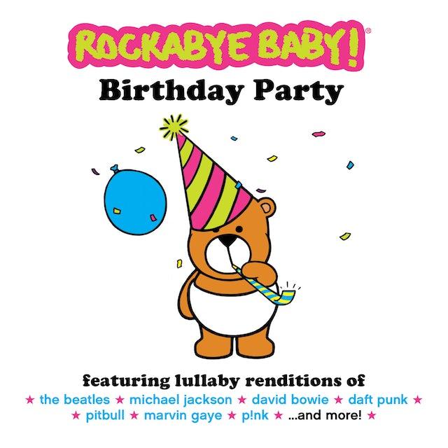 Rockabye Baby BIRTHDAY PARTY CD