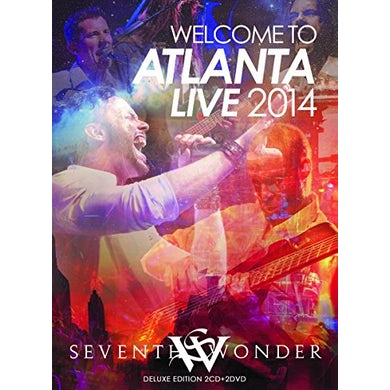 Seventh Wonder WELCOME TO ATLANTA - LIVE 2014 CD