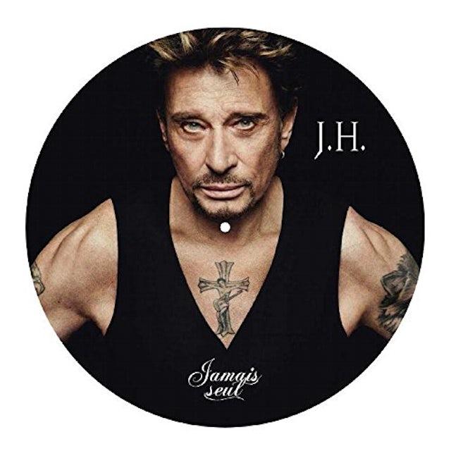 Johnny Hallyday JAMAIS SEUL Vinyl Record