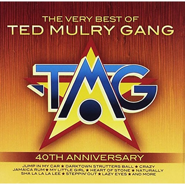 Ted Gang Mulry VERY BEST OF CD