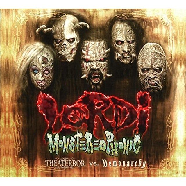 Lordi MONSTEREOPHONIC (THEATERROR VS. DEMONARCHY) CD