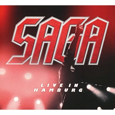 Saga LIVE IN HAMBURG CD