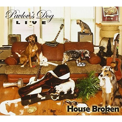 Pavlov's Dog HOUSE BROKEN - LIVE 2015 CD