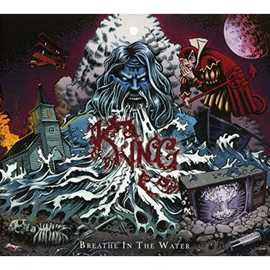 Kyng BREATHE IN THE WATER CD
