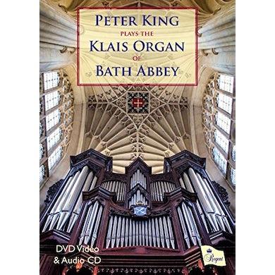 Peter King PLAYS KLAIS ORGAN OF BATH ABBEY (CD+DVD PAL 2) CD
