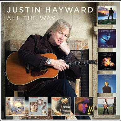Justin Hayward ALL THE WAY CD
