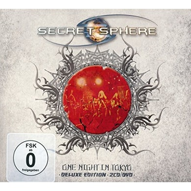 Secret Sphere ONE NIGHT IN TOKYO CD