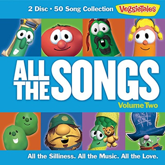 VeggieTales ALL THE SONGS 2 CD