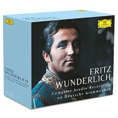 Fritz Wunderlich WUNDERLICH - COMPLETE STUDIO RECORDINGS ON DEUTSCH CD