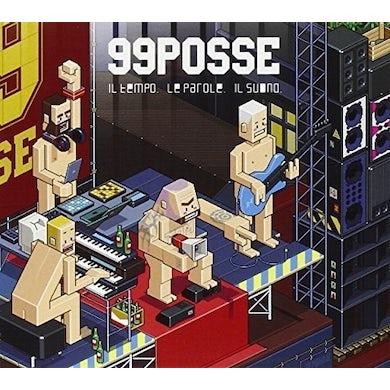 99 Posse IL TEMPO. LE PAROLE. IL SUONO. Vinyl Record