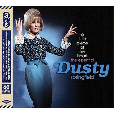 Dusty Springfield LITTLE PIECE OF MY HEART: ESSENTIAL DUSTY CD