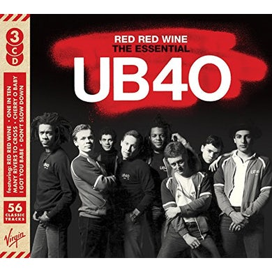 RED RED WINE: ESSENTIAL UB40 CD