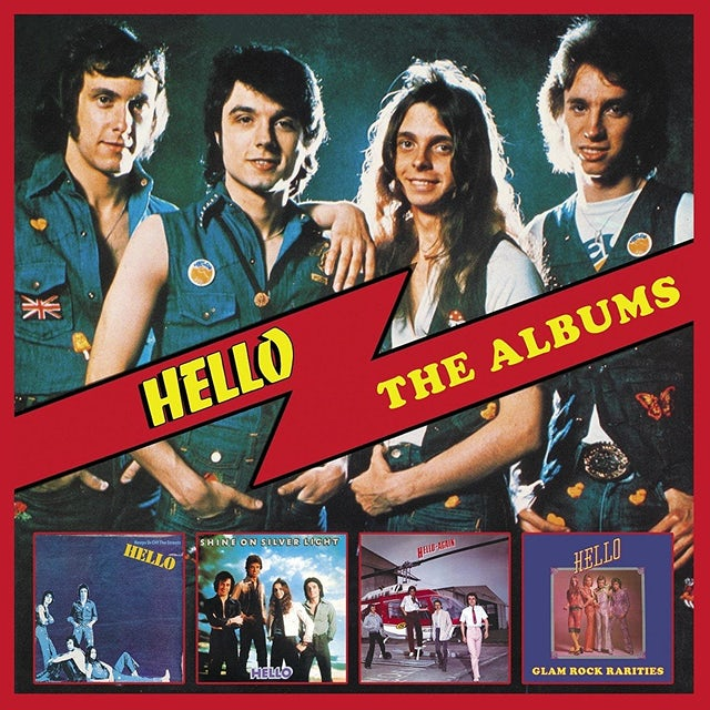 HELLO: THE ALBUMS CD