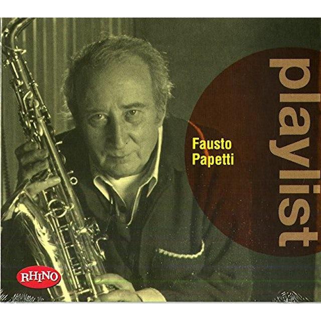 PLAYLIST: FAUSTO PAPETTI CD