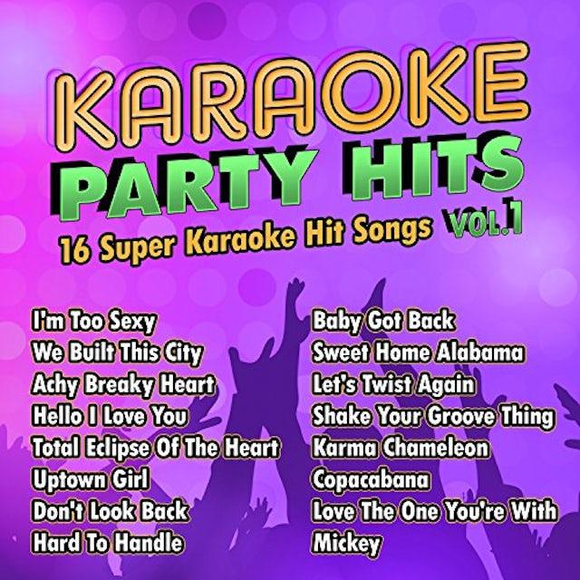Karaoke Cloud KARAOKE PARTY HITS 1 CD