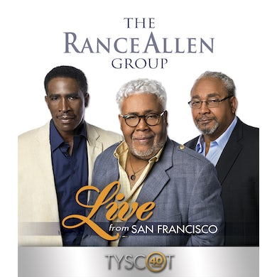Rance Allen Group LIVE FROM SAN FRANCISCO DVD
