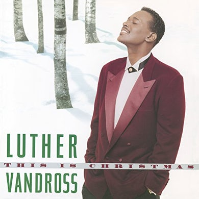 Luther Vandross THIS IS CHRISTMAS Vinyl Record